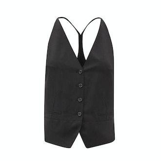 Ann Demeulemeester Single-Breasted Waistcoat
