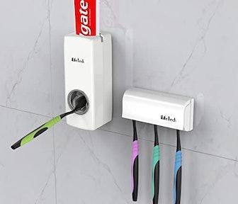 iLifeTech Toothpaste & Brush Holder Set