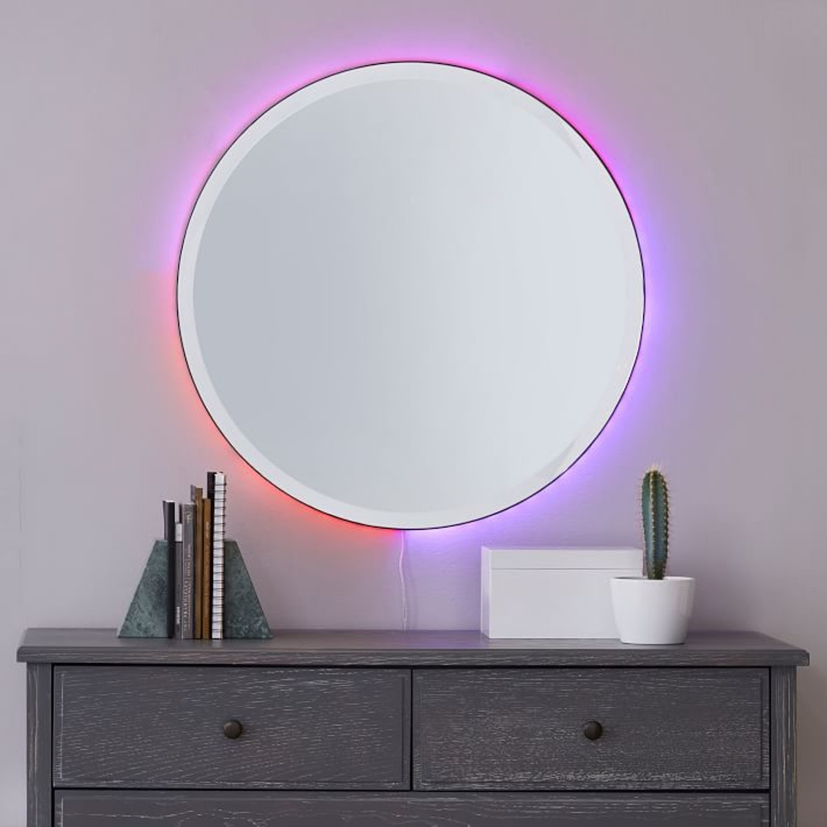 Ombre Ambient Backlit LED Mirror