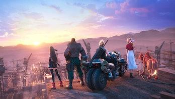 final fantasy 7 remake intergrade final shot
