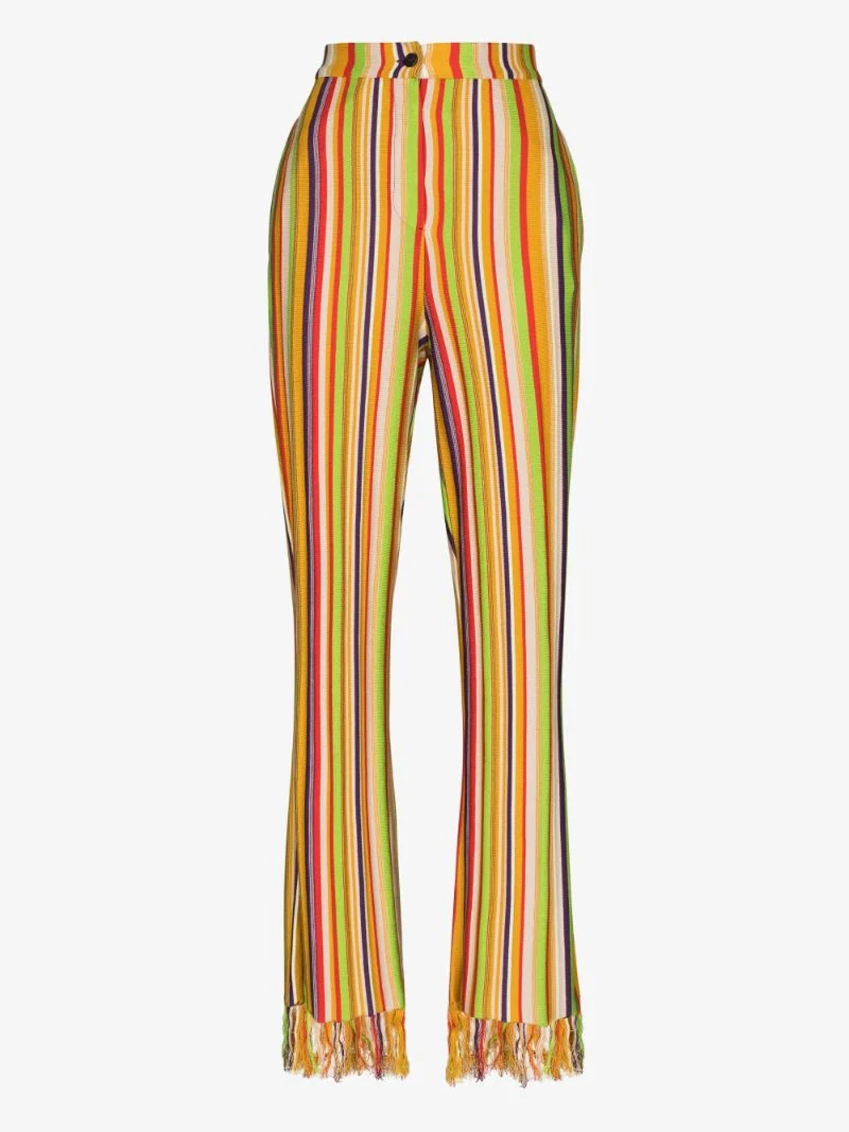 Kenneth Ize striped pants.