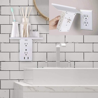 CFMASTER Socket Wall Shelf