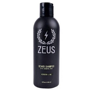Zeus Beard Shampoo, 8 fl. oz.