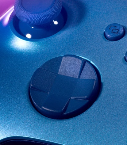 A rendered image of Xbox's new wireless controller in Aqua Shift