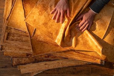 MycoWorks' Reishi mushroom leather alternative