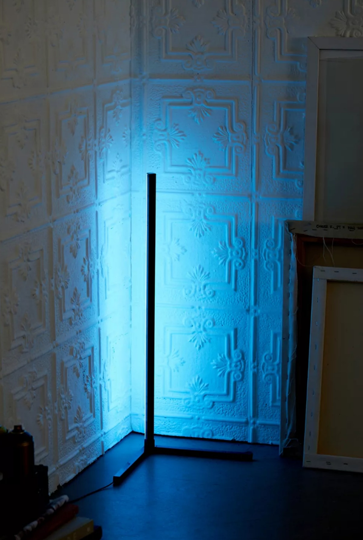Brilliant Ideas Remote Controlled Corner Floor Lamp
