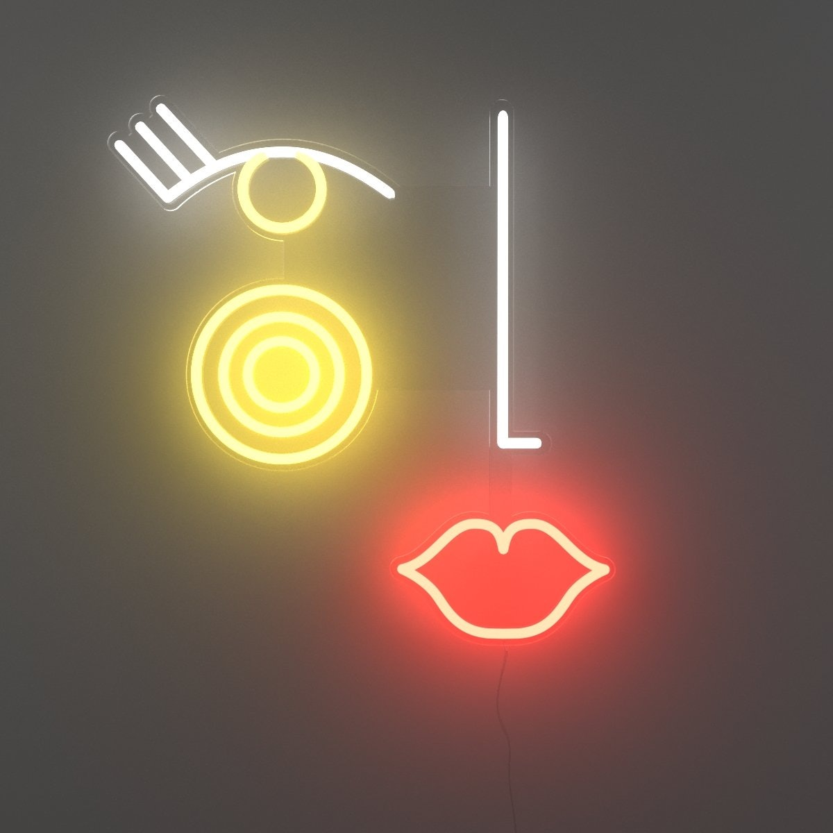 Madame, LED neon sign by Jonathan Adler