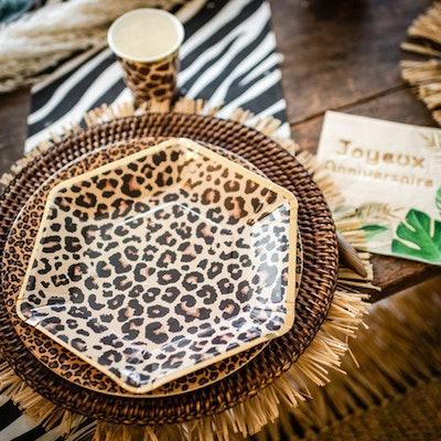 Safari Print Paper Plates