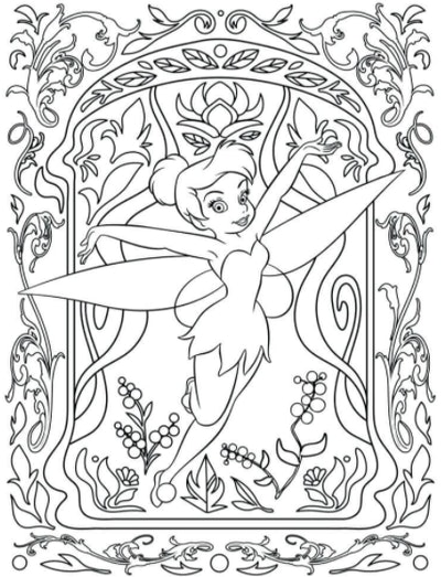 Illustration of Disney's Tinkerbell