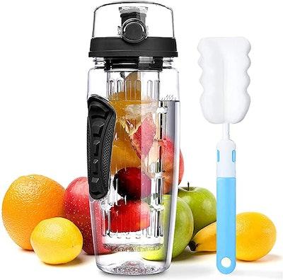 OMORC Fruit Infuser Water Bottle