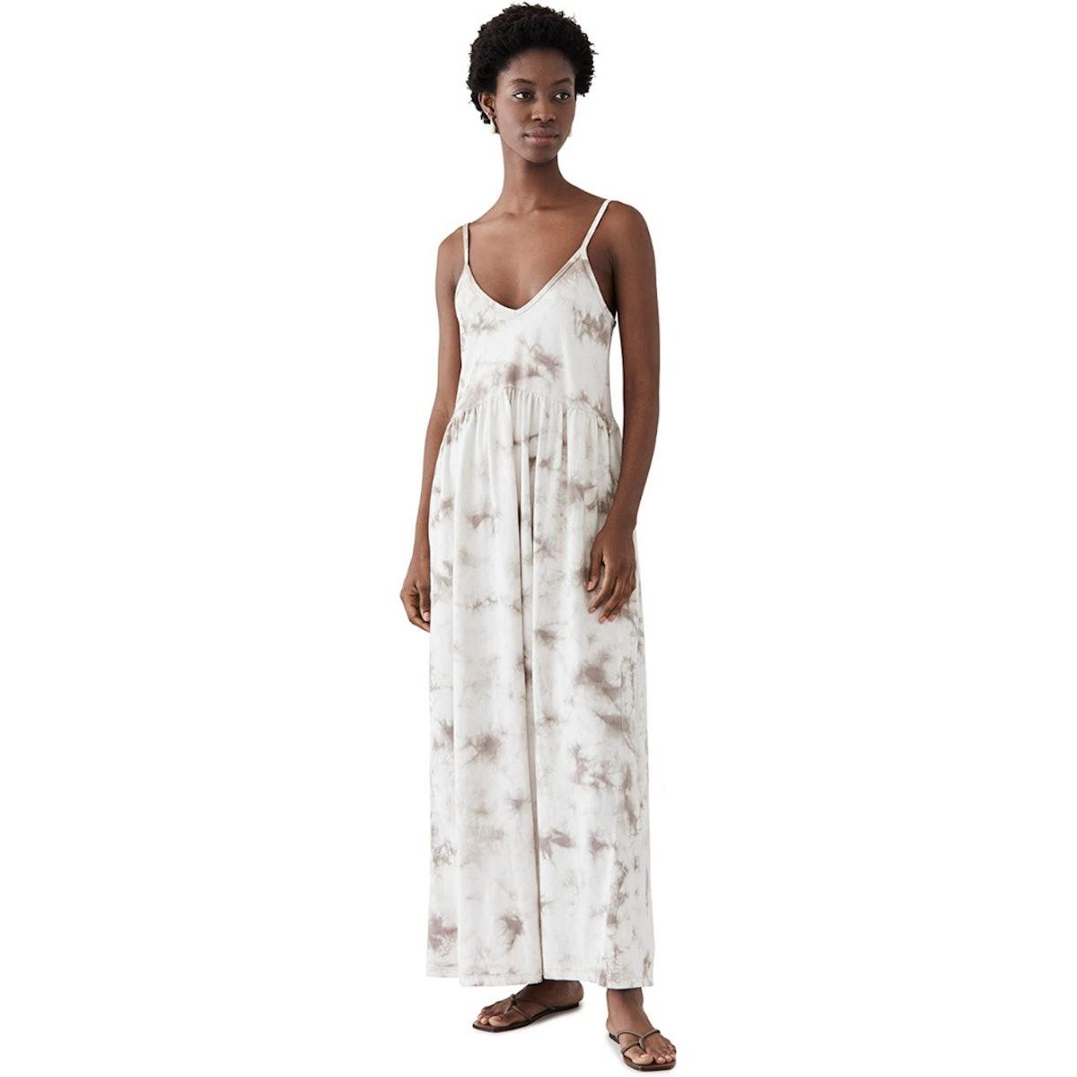 Z SUPPLY Hazy Cloud Print Dress