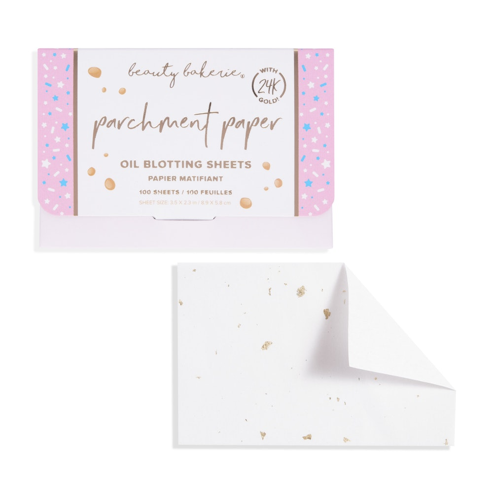 Parchment Paper Oil-Blotting Sheets