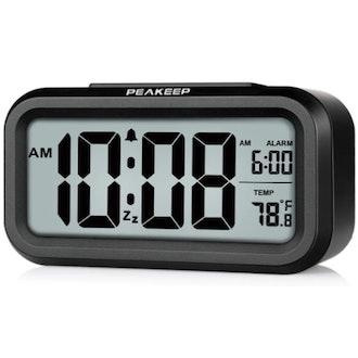 Peakeep Smart Night Light Alarm Clock