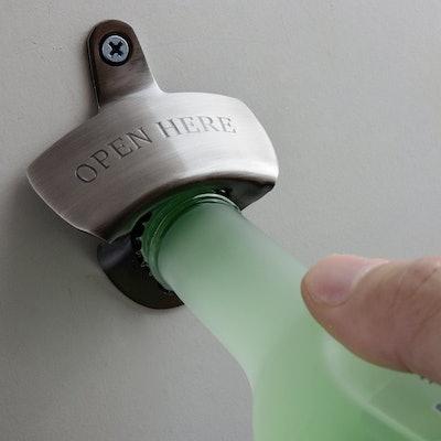 ORBLUE Wall-Mounted Bartender's Bottle Opener (Set of 2)
