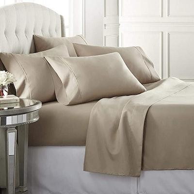 Danjor Linens California King Size Bed Sheets (6-Piece)