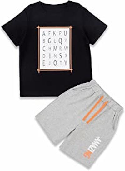 Amazing Alphabet Boys' Short Set
