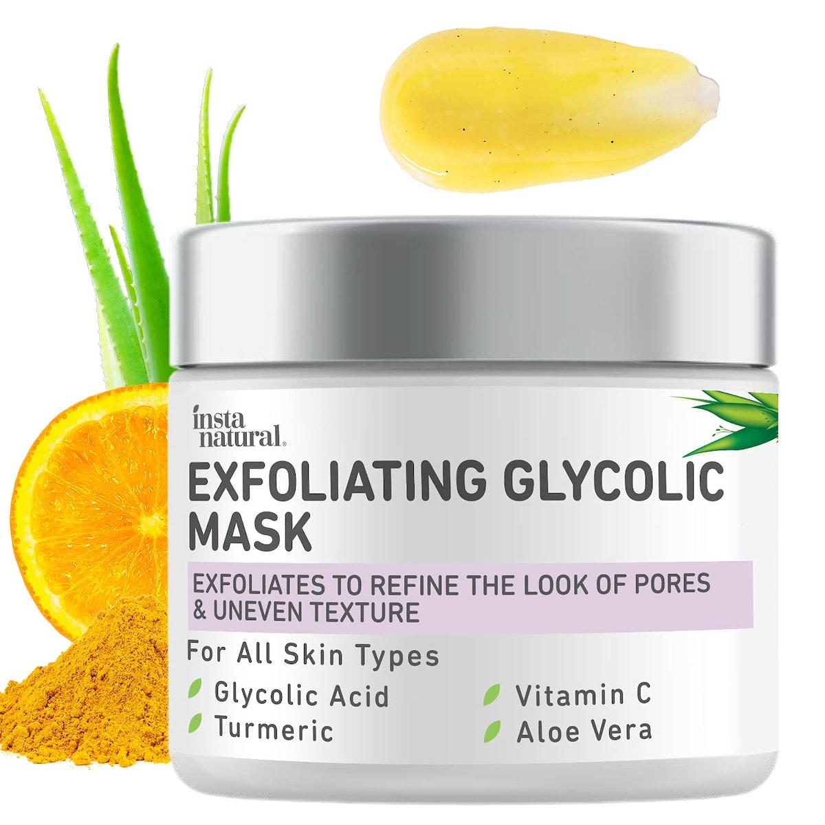 InstaNatural Exfoliating Glycolic Mask