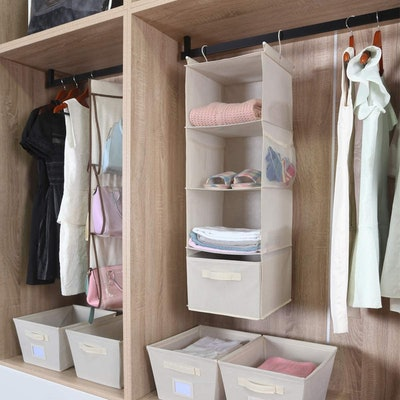 MAX Houser 4-Shelf Hanging Closet Organizer