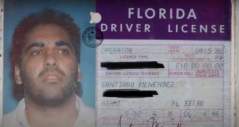 A fake drivers license used by Sal Magluta.