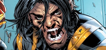 Wolverine letting out his inner rage in Ultimate X-Men Vol. 1 #95