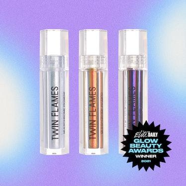 A product shot of Danessa Myricks Beauty's Twin Flames, the Best Eyeshadow winner of Elite Daily's 2...