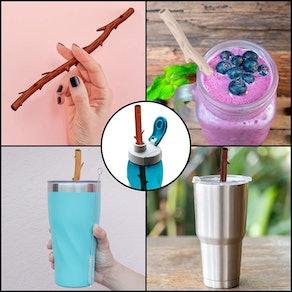 Funwares Reusable Twiggler Straws
