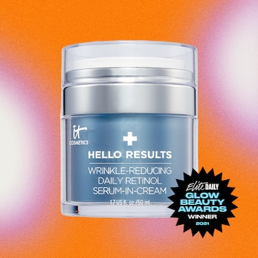A product shot of IT Cosmetics' Hello Results Daily Retinol Wrinkle Reducing Serum-in-Cream, the Bes...