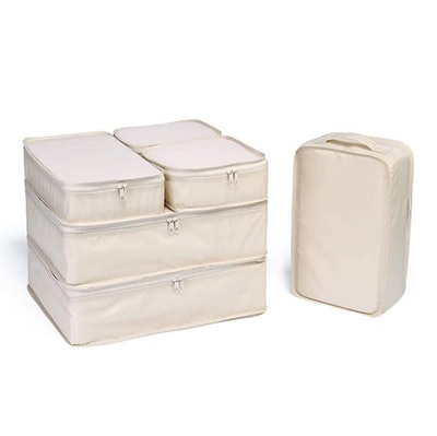 JJ POWER Travel Packing Cubes (Set of 6)