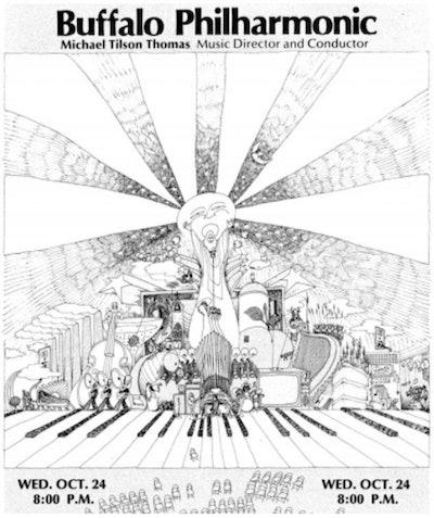 Illustration of the Buffalo Philharmonic playbill