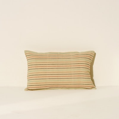 Lumbar Cushion - Multicolor Stripe