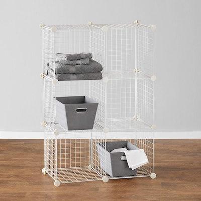 Amazon Basics 6-Cube Grid