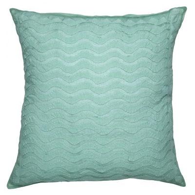 Waves Appliqué Pillow Cover