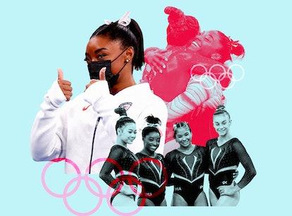 Simone Biles at the Tokyo 2020 Olympics.