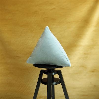 Velvet Pyramid Cushion