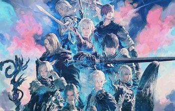 final fantasy 14 realm reborn endwalker art