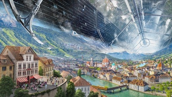 Blue Origin's concept for a future space colony.