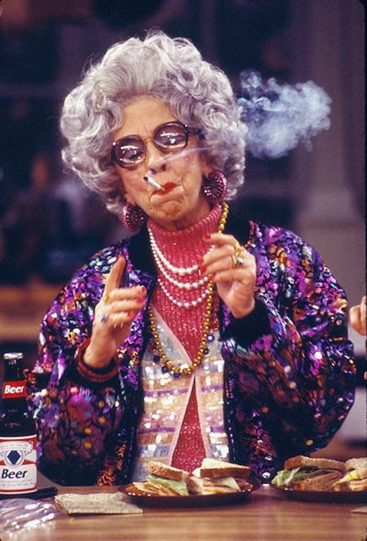 grandma yetta style the nanny