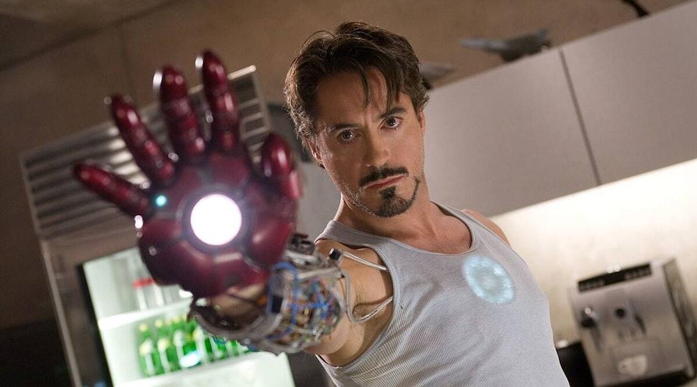 Robert Downey Jr. as Tony Stark in 2008's Iron Man