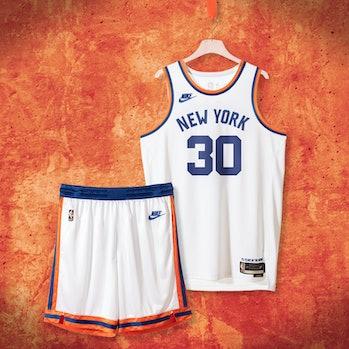 "Nike NBA ""Classic Edition"" uniform New York Knicks"