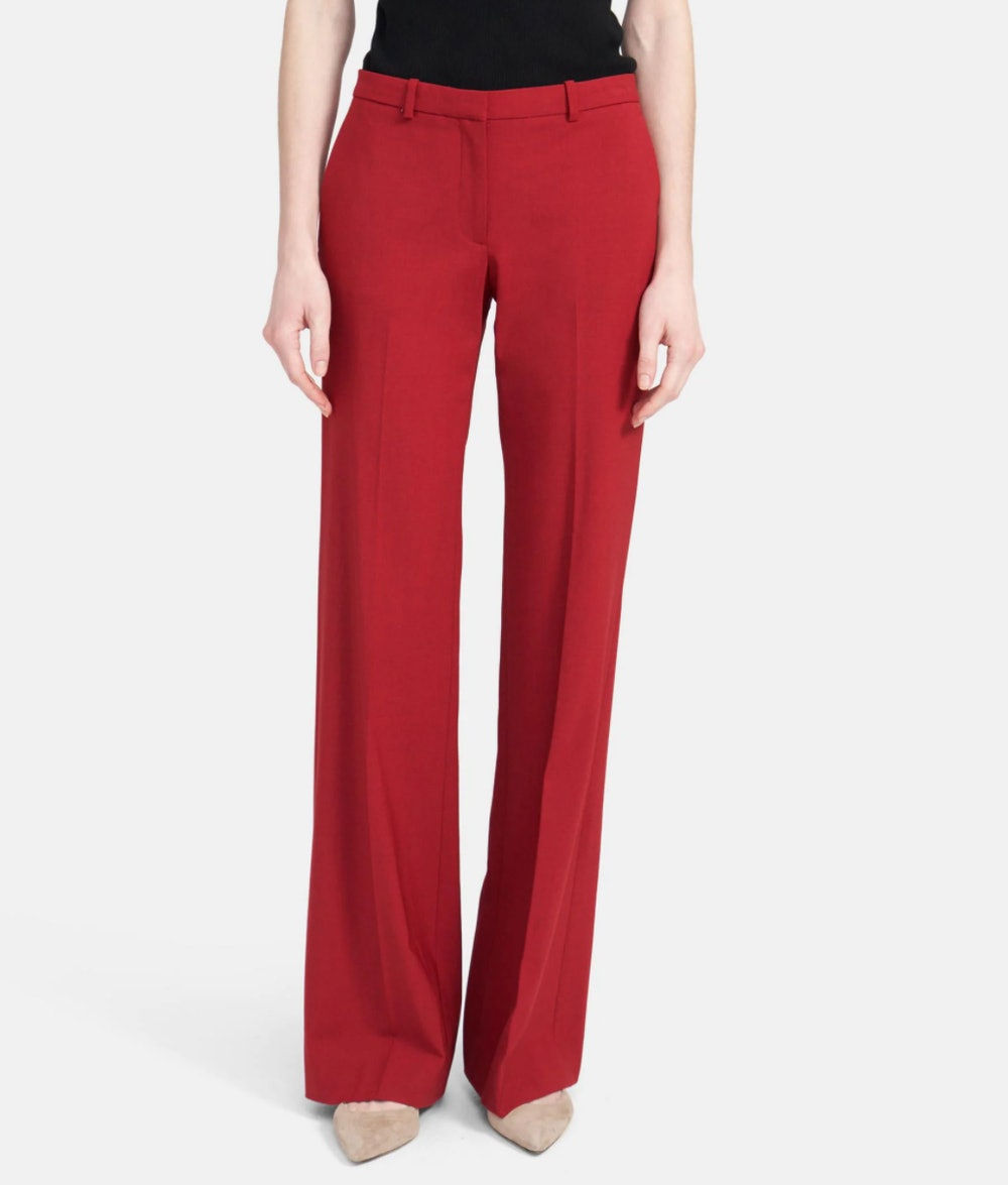 Flare Pant in Stretch Wool