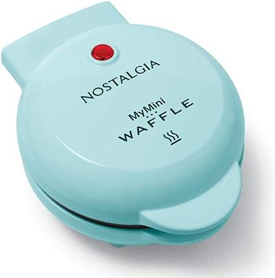 Nostalgia MyMini Personal Electric Waffle Maker