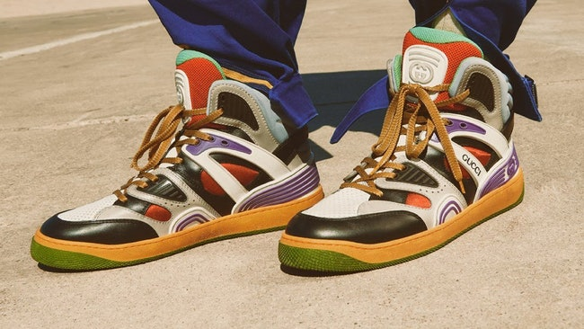 Gucci Demetra basketball sneakers