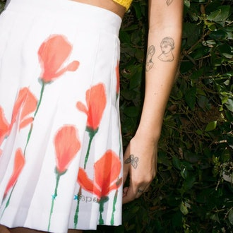 Birthday Girl Vintage Poppy & Tommy Tennis Skirt
