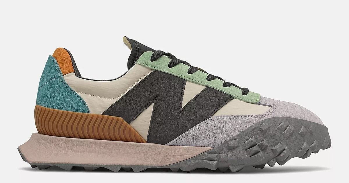 New Balance's super chunky XC-72 is one of its wildest sneakers yet