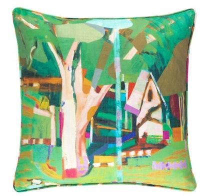 Little House Indoor/Outdoor Decorative Pillow