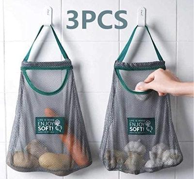 Hereinway Mesh Reusable Bags (3 Piece Set)