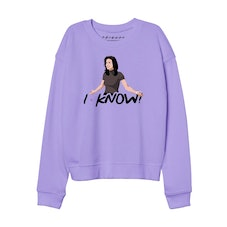 """""""Friends"""" Limited Edition Cast Collection I Know! Crewneck"""