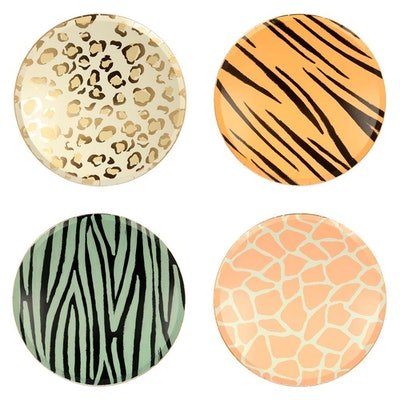 Safari Animal Dinner Plates