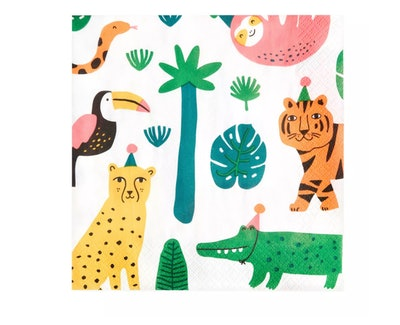 Spritz Jungle Print Napkins