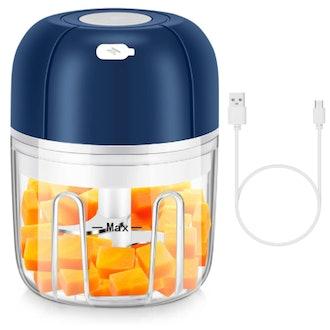 YFYYF Electric Mini Food Processor